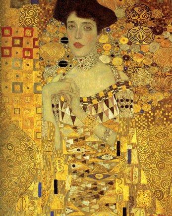 Gustav Klimt, Portrait of Adele Bloch-Bauer I, 1907