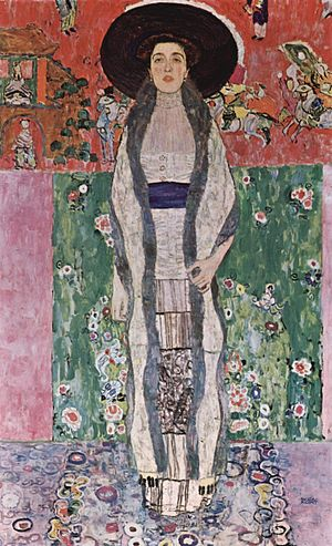 Gustav Klimt, Ritratto di Adele Bloch Bauer II, 1912