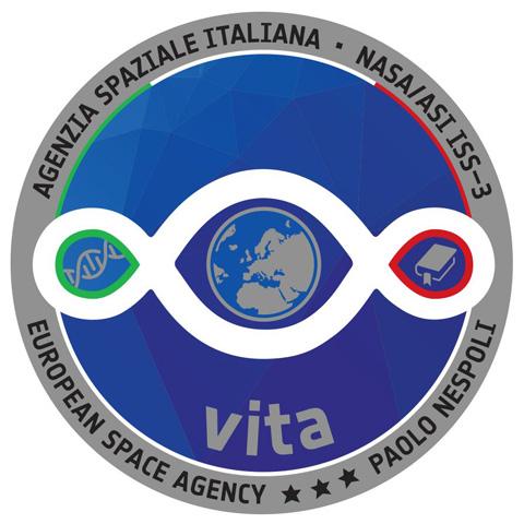 Il Terzo Paradiso nel logo della Stazione Spaziale Internazionale