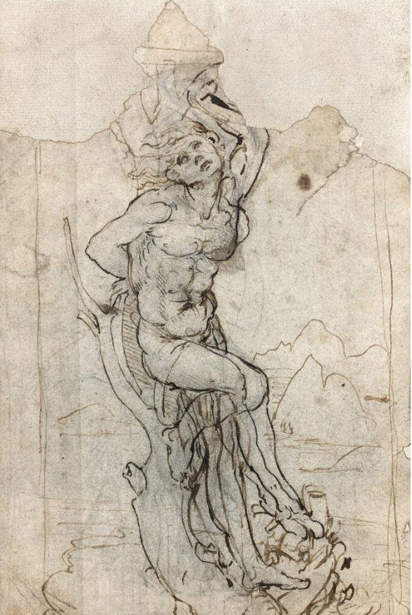 Il martirio di San Sebastiano di Leonardo da Vinci