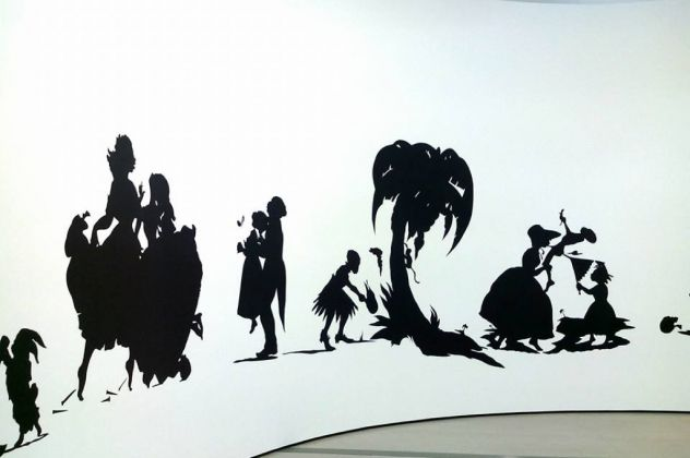 Kara Walker - installation view at The Broad, Los Angeles 2016 - photo Daniele Perra