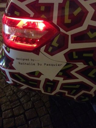 Kunsthalle, Nathalie Du Pasquier, Objects not always silent (Taxi in Hoher Markt)