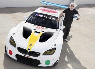 La BMW Art Car firmata John Baldessari (© Chris Tedesco - BMW)