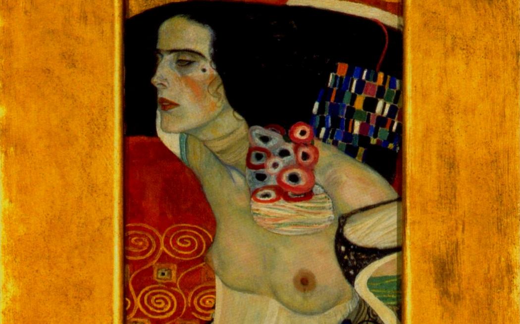 La Giuditta veneziana di Klimt (particolare)