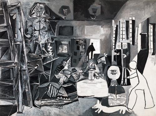 Pablo Picasso, Las Meninas, 1957 - Museu Picasso, Barcellona