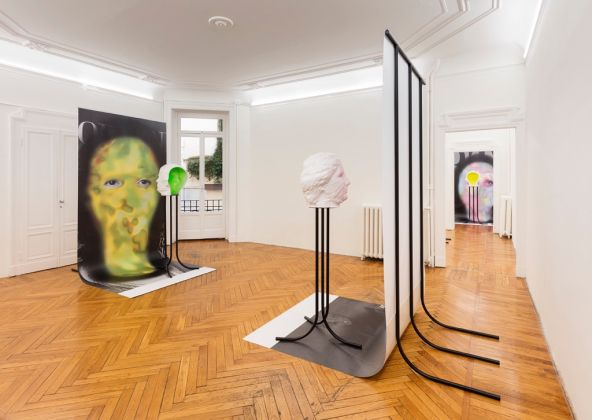 Patrick Tuttofuoco – Pretty Good Privacy – installation view at Federica Schiavo Gallery, Milano 2016 – photo Andrea Rossetti