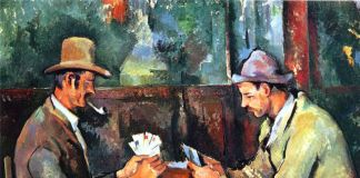 Paul Cézanne, I giocatori di carte, 1890-95