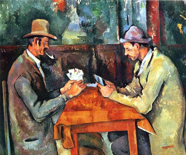 Paul Cézanne, I giocatori di carte, 1890-95