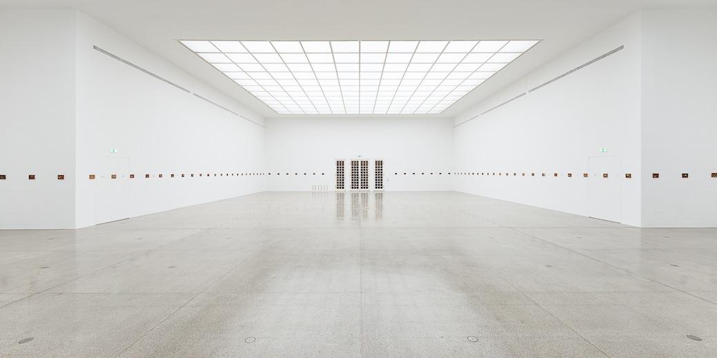 Secession, Francis Alÿs, Le temps du sommeil (vista generale della mostra) - Foto Jorit Austria
