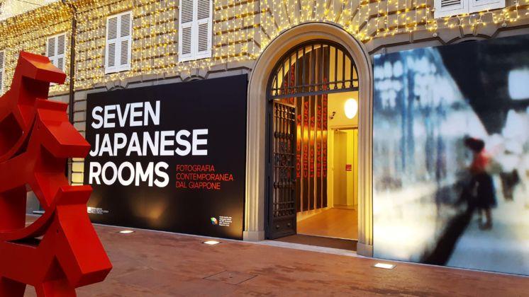 Seven Japanese Rooms - exhibition view at Fondazione Carispezia, La Spezia 2016