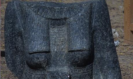Statue ritrovate nel tempio funerario di Amenhotep III a Luxor