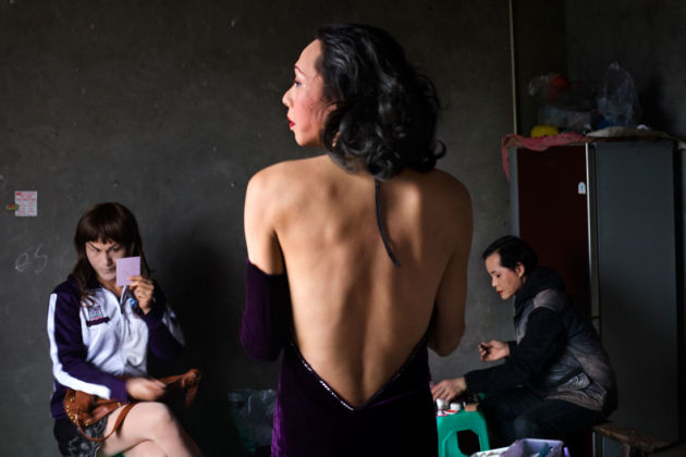 Tomoko-Kikuchi, Lala Zhangjie and Pandra, Sichuan Province serie I and I, 2011