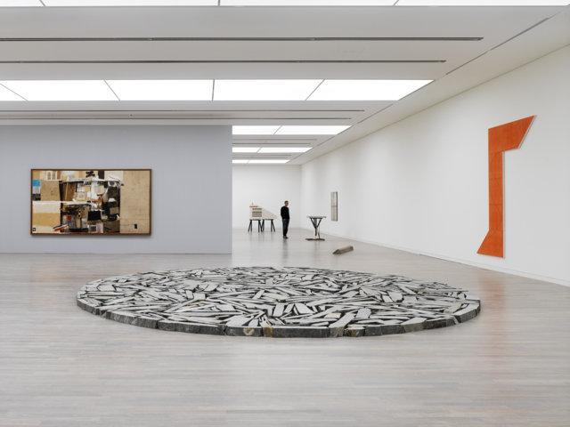 Wolke & Kristall - exhibition view at Kunstsammlung Nordrhein-Westfalen, Düsseldorf 2016