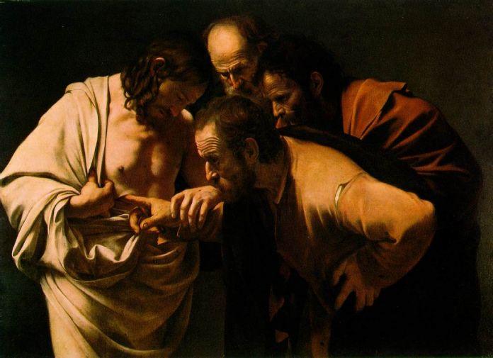 Caravaggio, Incredulità di San Tommaso (1600-1601)