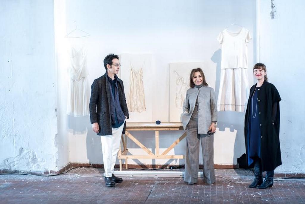 A.I. Studiò, Desirée Bollier con Aurore Thibout e Makoto Ofune, courtesy of Press Office