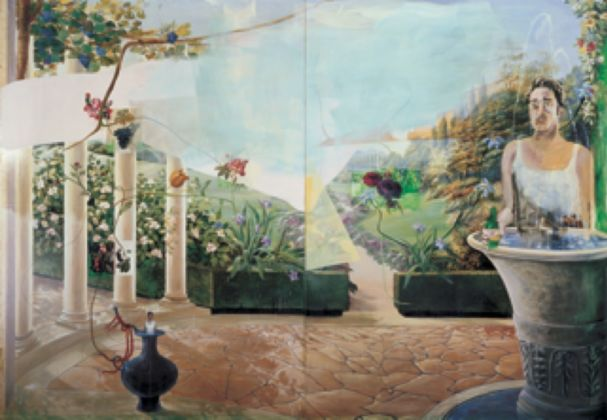 Albert Oehlen, Selbst als Frühling, 2006 - coll. privata - photo Archive Galerie Max Hetzler, Berlino-Parigi - © Albert Oehlen