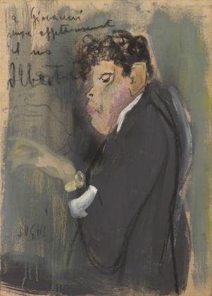 Alberto Sughi, Giovanni Cappelli, s.d., Forlì, Galleria d'Arte Farneti