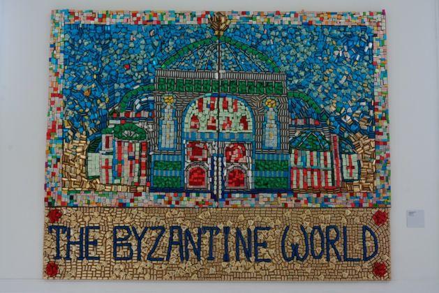 Aldo Mondino, The Byzantine World, 1999 - photo Linda Kaiser