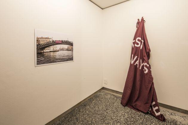 Alessia Cargnelli e Mario Ciaramitaro, Time present, 2016, 100ma Collettiva Giovani Artisti, Fondazione Bevilacqua La Masa, Venezia, photo Giorgio Bombieri