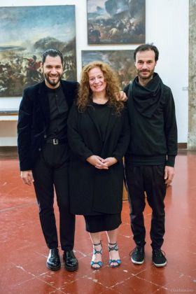 Anita Calà, Vincenzo Marsiglia e Lapo Simeoni