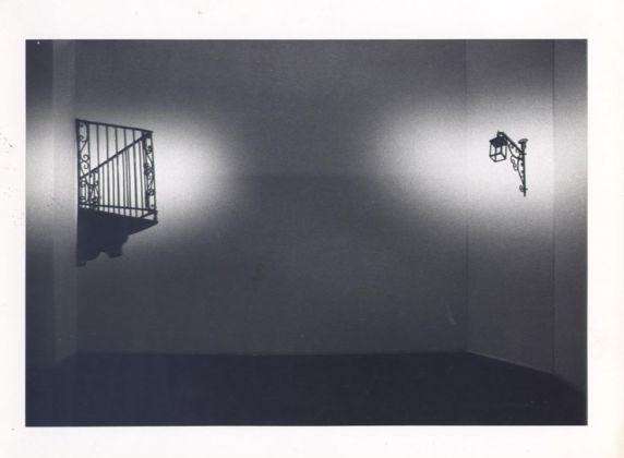 Antonio Trotta, Balcone, lampione, 1976 - Biennale di Venezia