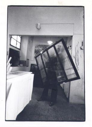 Antonio Trotta, La finestra sul vetro, 1972 - photo Giorgio Colombo
