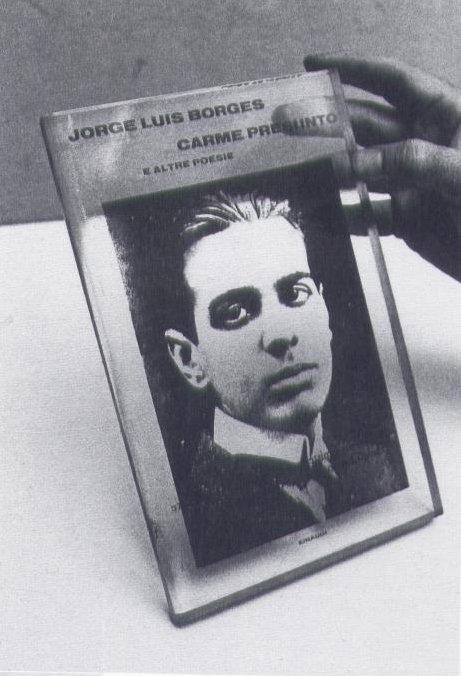 Antonio Trotta, Libro letto nel '70, 1970 - photo Shigeo Anzai