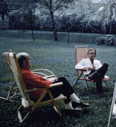 Antonio Trotta e Lucio Fontana (a sx)