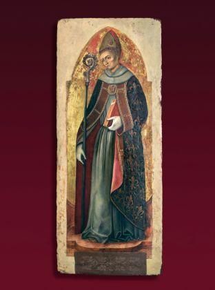 Antonio e Bartolomeo Vivarini, San Ludovico di Tolosa, 1451, collezione privata