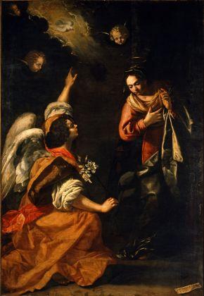 Artemisia Gentileschi, Annunciazione, 1630. Napoli, Museo di Capodimonte. © Museo e Real Bosco di Capodimonte