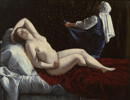 Artemisia Gentileschi, Danae, 1612 ca.. Saint Louis Art Museum. Image courtesy Saint Louis Art Museum