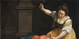 Artemisia Gentileschi, Giaele e Sisara, 1620. Museo di Belle Arti di Budapest