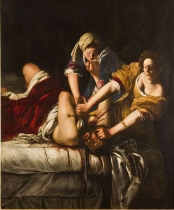 Artemisia Gentileschi, Giuditta che decapita Oloferne, 1620-21 ca.. Firenze, Gallerie degli Uffizi. Gabinetto Fotografico delle Gallerie degli Uffizi