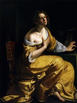 Artemisia Gentileschi, La conversione della Maddalena, 1616-17 ca.. Firenze, Gallerie degli Uffizi. Gabinetto Fotografico delle Gallerie degli Uffizi