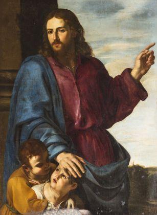 Artemisia Gentileschi, Lasciate che i pargoli vengano a me (Sinite Parvulos), 1629-30 ca.. Arciconfraternita dei Santi Ambrogio e Carlo in Roma. © Giuseppe Schiavinotto