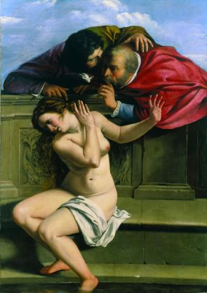 Artemisia Gentileschi, Susanna e i vecchioni, 1610. Pommersfelden, Kunstsammlungen Graf von Schonborn. Photo Michael Aust
