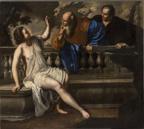 Artemisia Gentileschi e Onofrio Palumbo (o Palomba), Susanna e i vecchioni, 1652. Bologna, Collezioni della Pinacoteca Nazionale