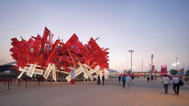 Asif Khan, Coca-Cola Beatbox Pavilion © Hufton+Crow