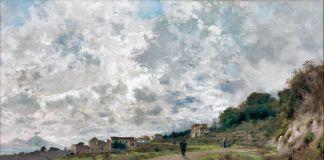 Attilio Pratella, Vecchio Vomero, 1892, collezione privata