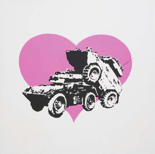 Banksy, Every time I Make Love to You I Think of Someone Else Vroom&Varossieau
