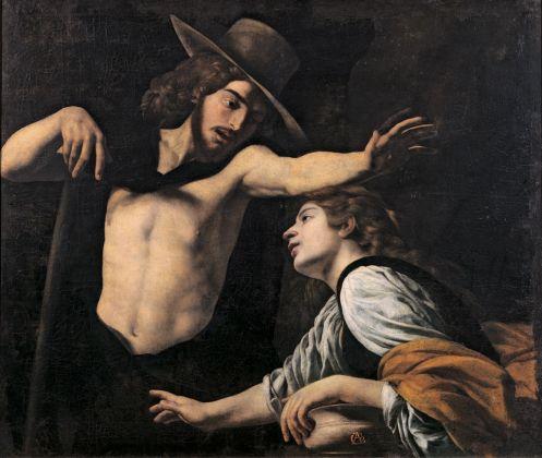 Battistello Caracciolo, Noli me tangere, 1618 ca.. Prato, Museo di Palazzo Pretorio. Archivio immagini Museo di Palazzo Pretorio, Prato