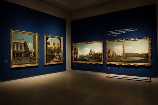 Bellotto e Canaletto. Lo stupore e la luce. Exhibition view at Gallerie d'Italia, Milano 2017