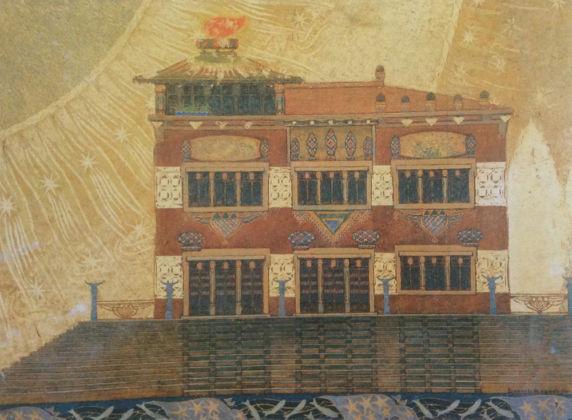 Benvenuto Benvenuti, Villa al mare, 1911 - Livorno, Museo Civico Giovanni Fattori