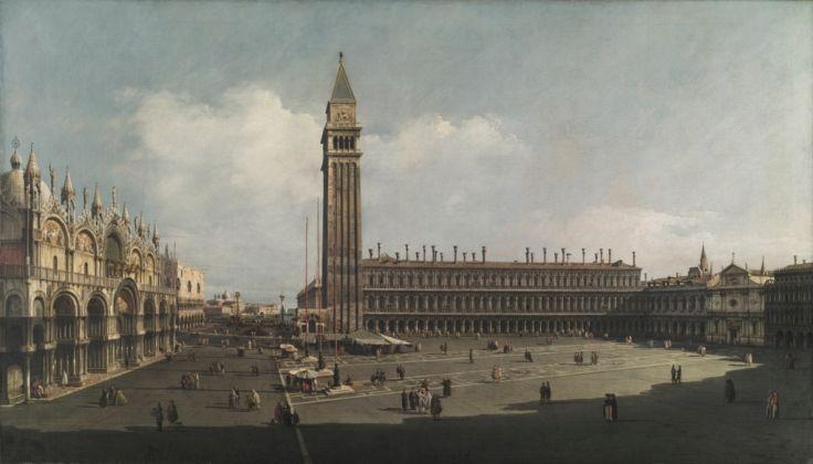 Bernardo Bellotto, La Piazza San Marco, Venezia, 1742-43, The Cleveland Museum of Art