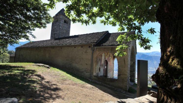 Chiesa di San Bernardo, Curzútt