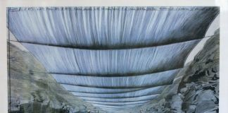 Un progetto per Over the River, di Christo