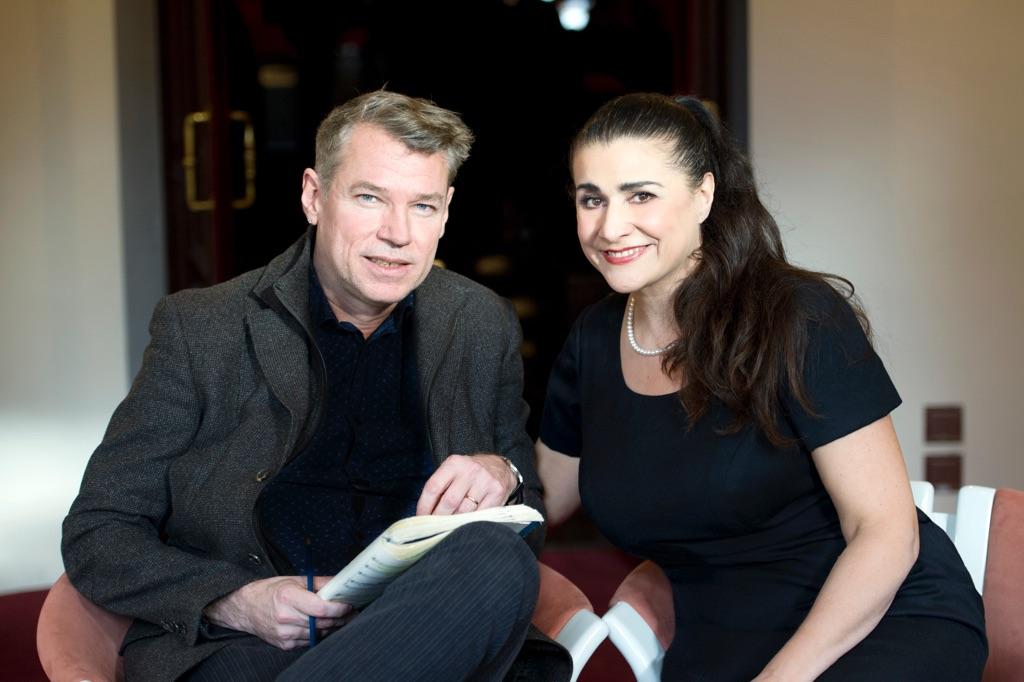 Christof Loy & Cecilia Bartoli - photo © Monika Rittershaus