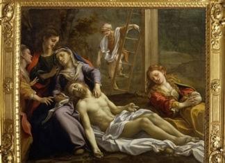 Correggio, Compianto sul Cristo morto, 1523-4 - Parma, Galleria Nazionale