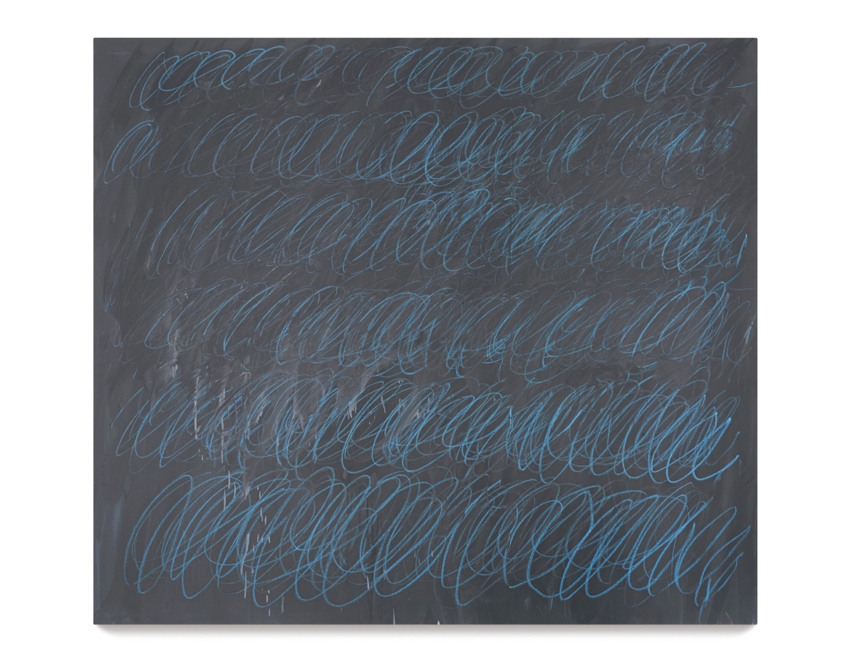 Cy Twombly, Untitled (New York City), 1968 – courtesy Sotheby's