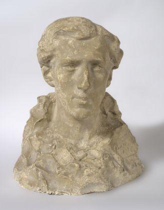 Domenico Baccarini, Busto di Giovanni Costetti, 1901-02, Faenza, Pinacoteca comunale